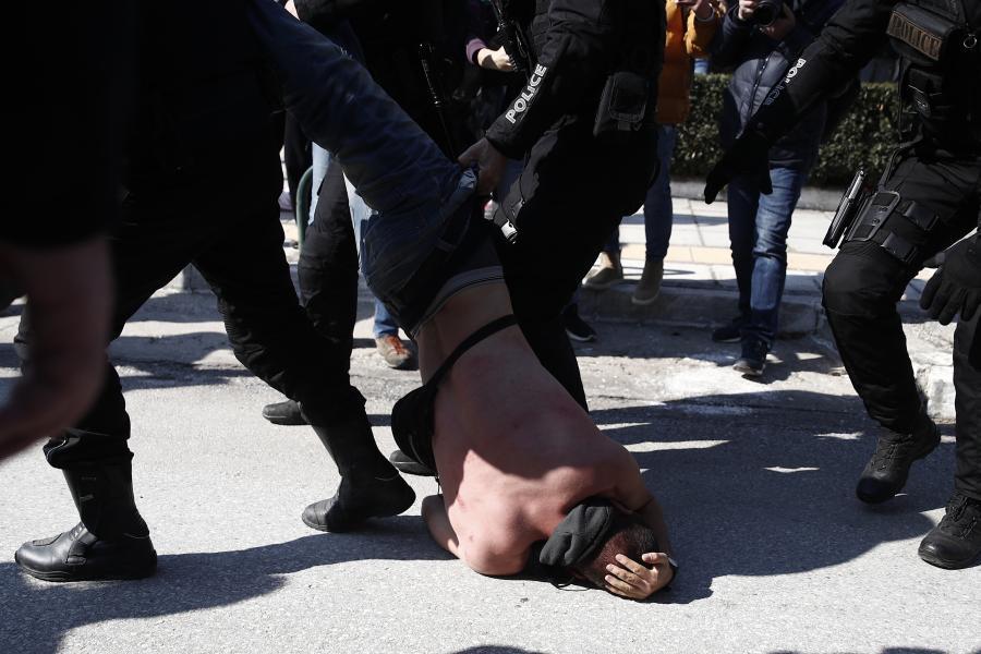 Θεσσαλονίκη - διαμαρτυρία ΑΠΘ