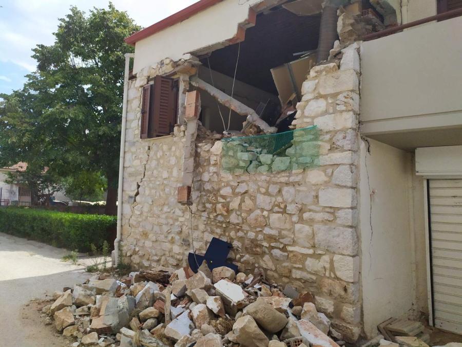 Δαμάσι Σεισμός Σπίτι