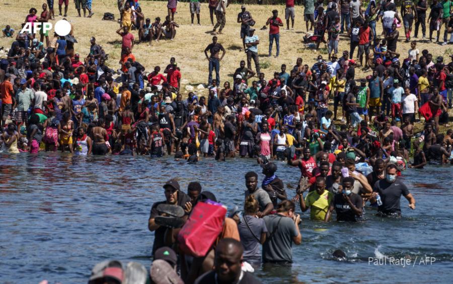 Αϊτινοί μετανάστες Ρίο Γκράντε ΗΠΑ