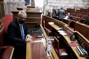 Ο Μάκης Βορίδης στη Βουλή