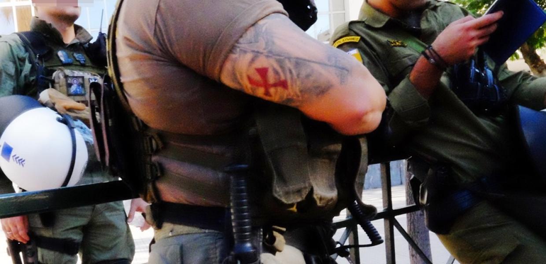Αστυνομικός ναζιστικό σύμβολο