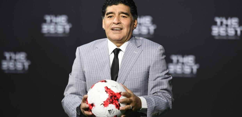 Ο Ντιέγκο Μαραντόνα