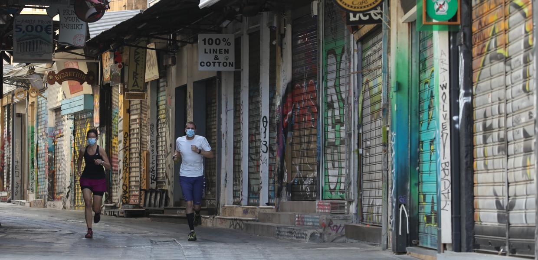 Κλειστό κατάστημα λόγω lockdown