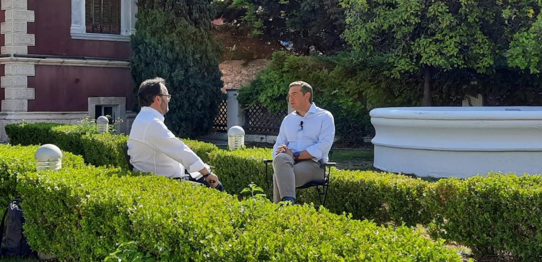 Ο Αλέξης Τσίπρας στο Star Κεντρικής Ελλάδας