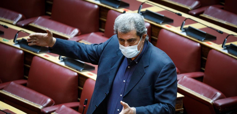 Ο Παύλος Πολάκης στη Βουλή